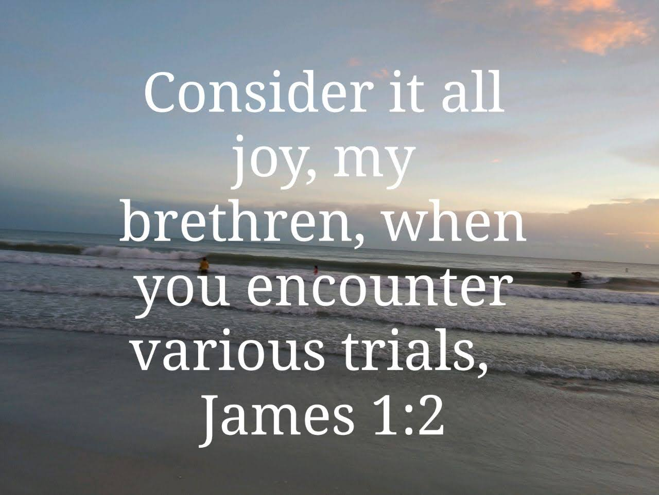 Joy In Trials??