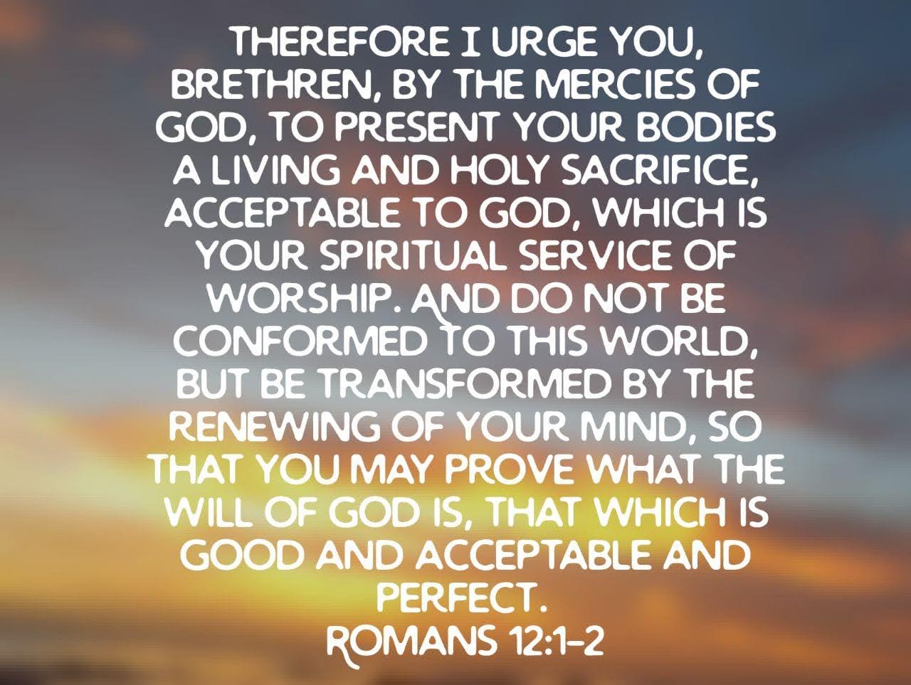 Sacrifice, Worship, and Transformation